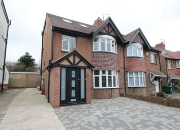 Thumbnail 4 bed semi-detached house to rent in Carden Avenue, Brighton