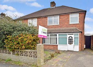 Thumbnail 3 bed semi-detached house for sale in The Crossways, Merstham, Surrey