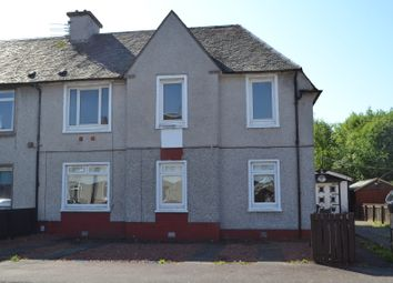 Thumbnail 3 bedroom flat for sale in Russell Street, Mossend