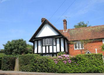 Thumbnail 3 bed semi-detached house for sale in Laurel Cottages, The Street, Benenden, Kent