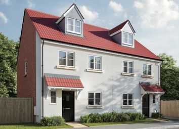 "Thumbnail 4 bed semi-detached house for sale in ""The Aslin"" at Market Grove, Great Yeldham, Halstead"