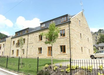 Thumbnail 2 bed flat for sale in Spring Grove, Hebden Bridge, West Yorkshire