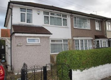 Thumbnail 3 bed end terrace house to rent in Rosebank Avenue, Hornchurch, Essex