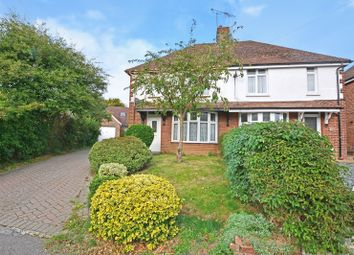 Thumbnail 3 bed semi-detached house for sale in Bentley Road, Willesborough, Ashford