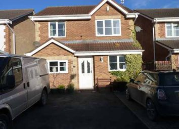 Thumbnail 3 bed detached house for sale in Ennis Close, Choppington, Northumberland