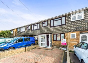 Thumbnail 3 bed terraced house for sale in Blake Close, Rainham