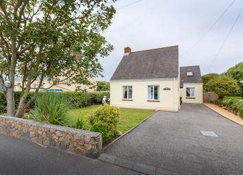 Thumbnail 5 bed detached house for sale in Rue De La Ronde Cheminee, Castel, Guernsey