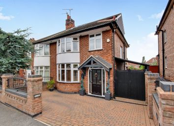 Thumbnail 3 bed semi-detached house for sale in Rosedale Road, Bakersfield, Nottingham