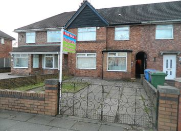 Thumbnail 3 bed terraced house for sale in Parthenon Drive, Norris Green