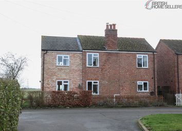 Thumbnail 3 bed detached house for sale in Leas Road, Great Hale, Sleaford, Lincolnshire