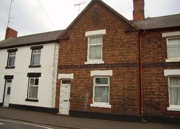 Thumbnail 3 bed terraced house to rent in Grange Street, Burton On Trent, Staffordshire