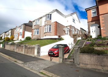 Thumbnail 3 bedroom semi-detached house for sale in Weston Park Road, Peverell, Plymouth