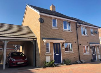 Thumbnail 3 bedroom semi-detached house for sale in Feronia Mead, Leighton Buzzard
