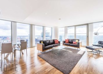 Thumbnail 3 bedroom flat to rent in Landmark East Tower, Marsh Wall, Canary Wharf, London