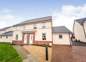 Thumbnail Semi-detached house for sale in Clos Oestrwydd, Talbot Green, Pontyclun