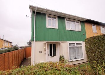 Thumbnail 3 bed end terrace house for sale in Hillsley Road, Cosham, Portsmouth