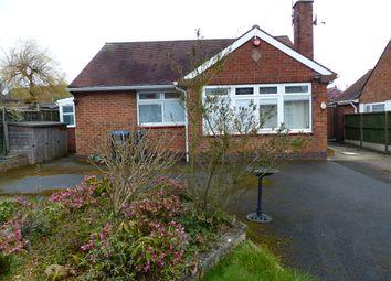 Thumbnail 2 bedroom detached bungalow for sale in Old Derby Road, Ashbourne Derbyshire