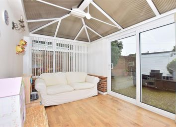 Thumbnail 3 bed terraced bungalow for sale in Fauchons Lane, Bearsted, Maidstone, Kent