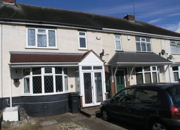 Thumbnail 2 bedroom terraced house for sale in Hickmans Avenue, Cradley Heath