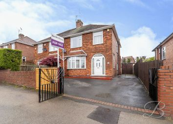 Thumbnail 3 bed semi-detached house for sale in Skegby Lane, Mansfield