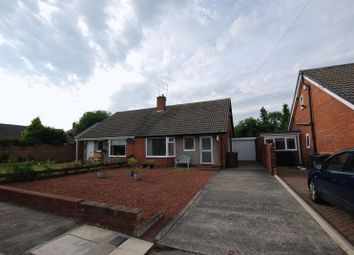 Thumbnail 2 bedroom semi-detached bungalow for sale in Amble Way, Gosforth, Newcastle Upon Tyne