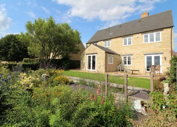 Thumbnail 5 bed detached house for sale in Welland Close, Gretton, Corby
