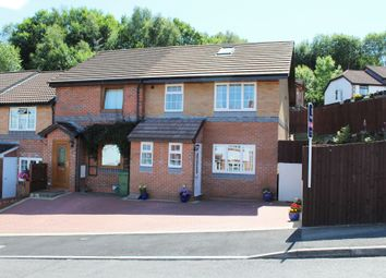 Thumbnail 3 bed end terrace house for sale in Cefn Close, Pontypridd