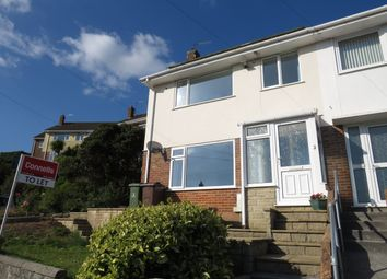Thumbnail 3 bed property to rent in Castleton Close, Plymouth
