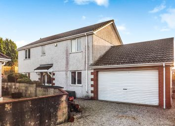 Thumbnail 4 bed detached house for sale in Kent Close, St. Dennis, St. Austell