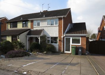 Thumbnail 3 bedroom semi-detached house for sale in Fallowfield Road, Walsall