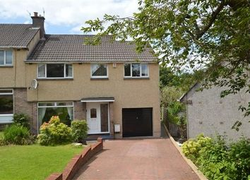 Thumbnail 4 bed semi-detached house for sale in Larkfield Road, Lenzie, Glasgow