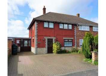 Thumbnail 4 bed semi-detached house for sale in Churchfield Road, Wisbech