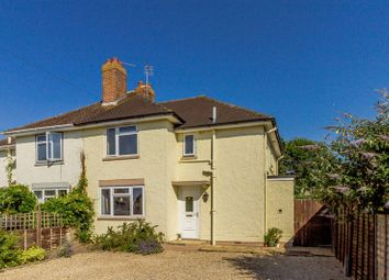 Thumbnail 3 bed semi-detached house for sale in Meadow Road, Pennington, Lymington