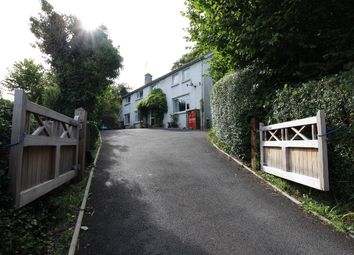 Thumbnail 4 bed detached house for sale in Comins Coch, Aberystwyth