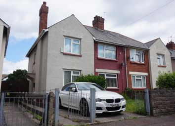 Thumbnail 3 bedroom semi-detached house for sale in Appledore Road, Cardiff