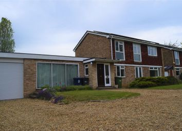 Thumbnail 4 bedroom detached house to rent in Crosshall Road, Eaton Ford, St. Neots