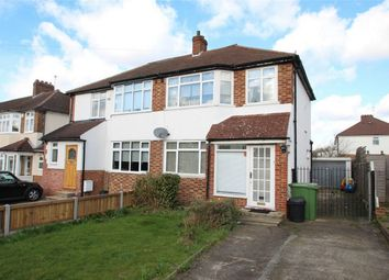 Thumbnail 3 bed semi-detached house for sale in Frankswood Avenue, Petts Wood, Orpington, Kent