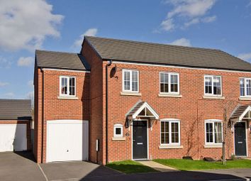 Thumbnail 3 bed semi-detached house for sale in Rudyard Way, Bridgetown, Cannock