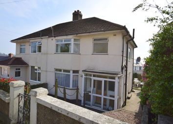 Thumbnail 3 bed semi-detached house for sale in Manor Lane, Laira, Plymouth