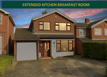 3 bed detached house for sale in Waveney Rise, Oadby, Leicester LE2