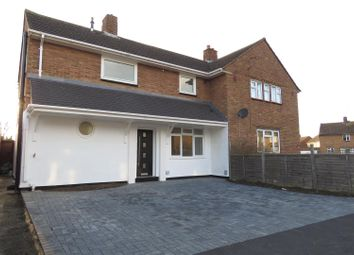 Thumbnail 3 bed semi-detached house for sale in Mead End, Biggleswade