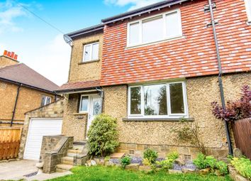 Thumbnail 3 bed semi-detached house for sale in Springfield Avenue, Clayton West, Huddersfield
