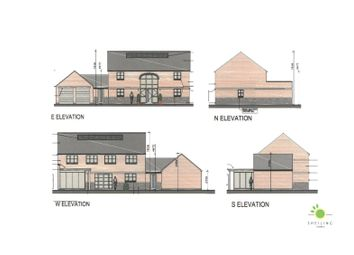 Thumbnail 4 bed detached house for sale in Three Pots Lane, Lutterworth Road, Gilmorton, Lutterrworth