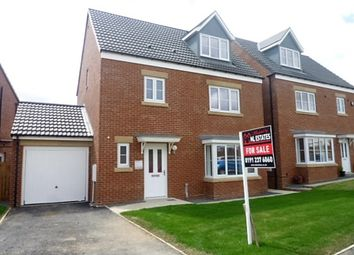Thumbnail 4 bed detached house for sale in The Beacons, Astley Road, Seaton Delaval, Whitley Bay