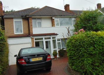 Thumbnail 4 bed detached house to rent in Woodfield Road, Oadby, Leicester
