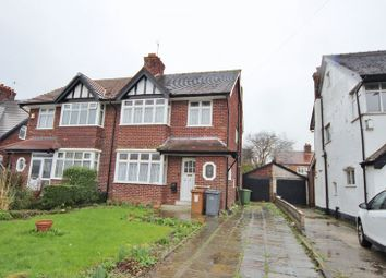 Thumbnail 3 bed semi-detached house for sale in Woodchurch Road, Prenton, Wirral