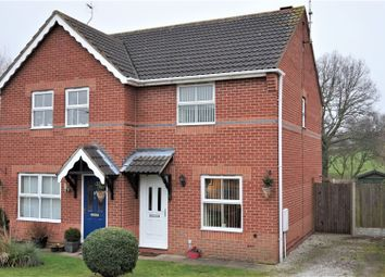 Thumbnail 2 bed semi-detached house for sale in Manston Way, Worksop
