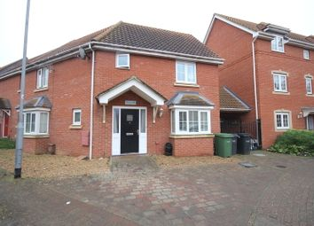 Thumbnail 3 bed end terrace house for sale in Grebe Court, Costessey, Norwich