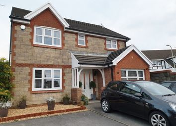 Thumbnail 4 bed detached house for sale in Heol Pencastell, Kenfig Hill