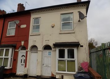 Thumbnail 2 bed end terrace house for sale in The Grove, Saltley, Birmingham